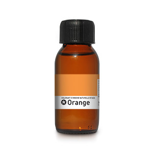 Colorant orange d'origine naturelle