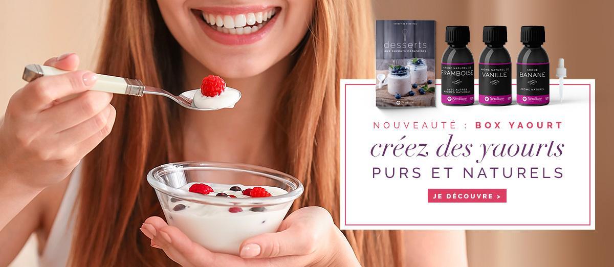 box yaourt arômes alimentaire Néroliane