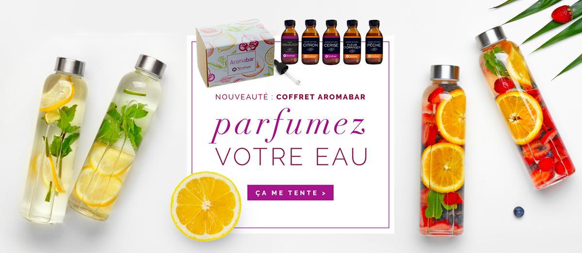 Aromabar pour parfumer votre eau
