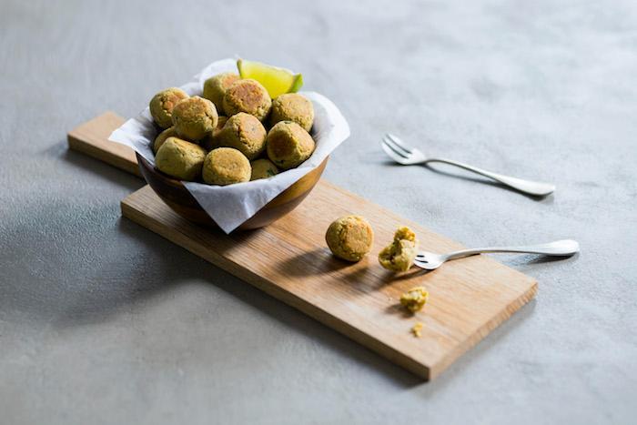 Falafel à l'arôme de Citron vert et d'Amande douce