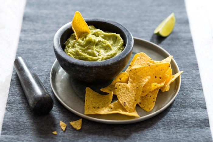 Guacamole acidulé aux arômes de citron vert et agrumes