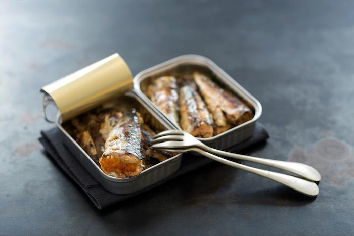 Sardines farcies aux arômes citron vert et gingembre