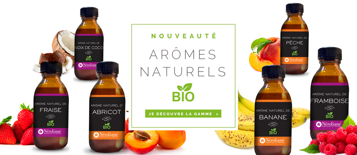 Arômes alimentaire BIO Néroliane