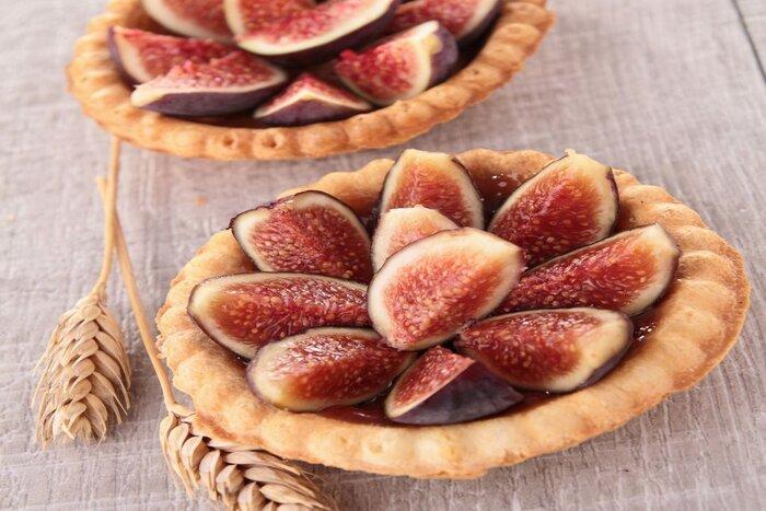 Tartelettes aux figues aux arômes miel et amande douce - Néroliane